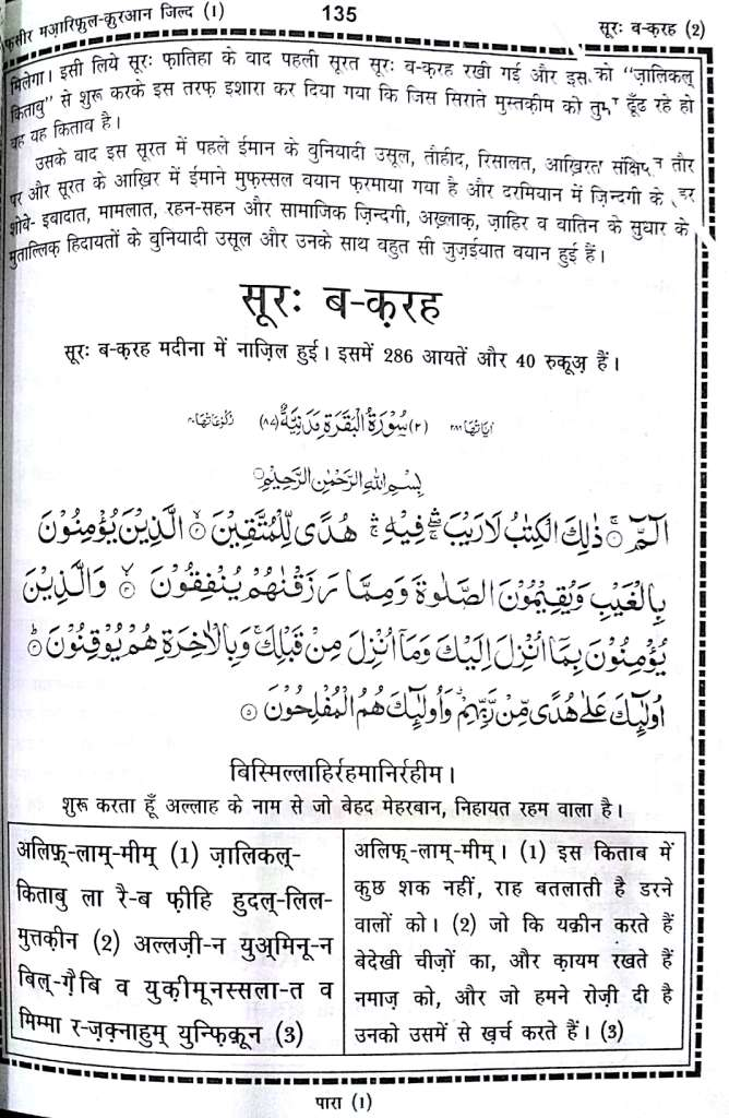Full Quran In Hindi Pdf