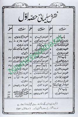 Naqsh Sulaimani - Islamic Book Bazaar